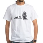 ROBOT EVOLUTION White T-Shirt