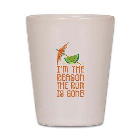 Rum Gone - Shot Glass