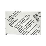 Rusty Irish Rectangle Magnet (100 pack)