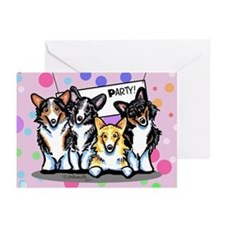 Corgi Happy Birthday Greeting Cards (Pk of 20)