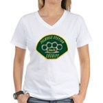 Palmdale Sheriff Station Women's V-Neck T-Shirt