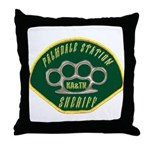 Palmdale Sheriff Station Throw Pillow