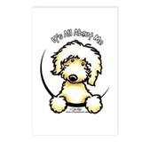 Yellow Labradoodle IAAM Postcards (Package of 8)