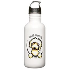 Yellow Labradoodle IAAM Water Bottle