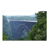 New River Gorge Bridge Postcards (Package of 8)