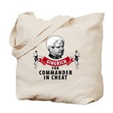 Cute Newt gingrich campaign Tote Bag
