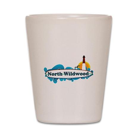 North Wildwood NJ - Surf Design Shot Glass