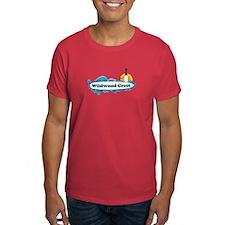 Wildwood Crest NJ - Surf Design T-Shirt