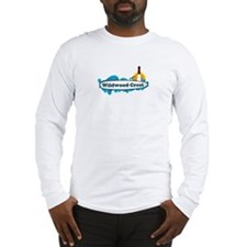 Wildwood Crest NJ - Surf Design Long Sleeve T-Shir