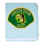 Lancaster Sheriff Station baby blanket