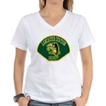 Lancaster Sheriff Station Women's V-Neck T-Shirt