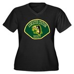 Lancaster Sheriff Station Women's Plus Size V-Neck