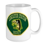 Lancaster Sheriff Station Large Mug