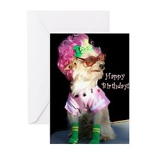 Happy Birthday Mix Dog Greeting Cards (Pk of 20)