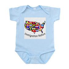 USA: Immigration Nation Infant Creeper