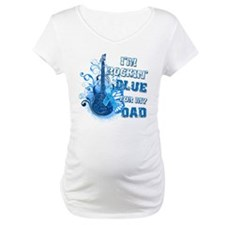 I'm Rockin' Blue for my Dad Shirt