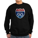Interstate 90 - Minnesota Sweatshirt