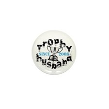 Trophy Husband Year & Name Mini Button (10 pack)