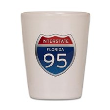 Interstate 95 - Florida Shot Glass