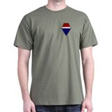 12th Army Group T-Shirt (Dark)