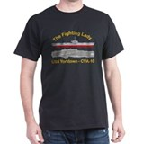 Cute Uss yorktown T-Shirt