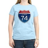 Interstate 74 - Illinois T-Shirt