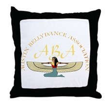 Aba Throw Pillow