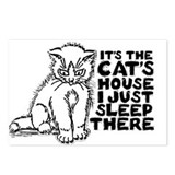 It's the Cat's House Postcards (Package of 8)