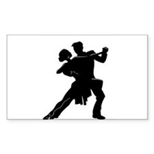 Unique Ballroom dancing Decal