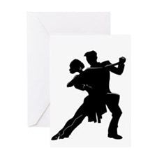 Unique Ballroom dance Greeting Card