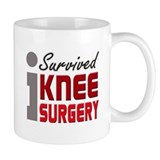I Survived Knee Surgery  Tasse