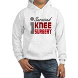 I Survived Knee Surgery Jumper Hoody