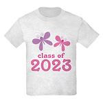 2023 Girls Graduation Kids Light T-Shirt