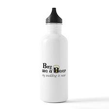 Buy Me A Beer Water Bottle