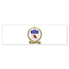 BRIDEAU Family Crest Sticker (Bumper 10 pk)