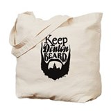 Cool Beard Tote Bag