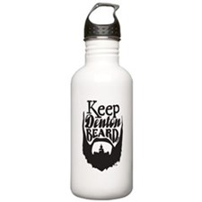 Cute Beard Water Bottle