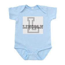 Letter L: Lincoln Infant Creeper