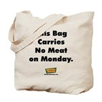 No Meat Tote Bag