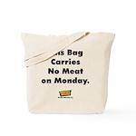 No Meat Tote Bag