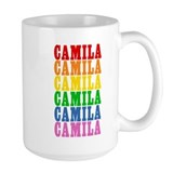 Rainbow Name Ceramic Mugs