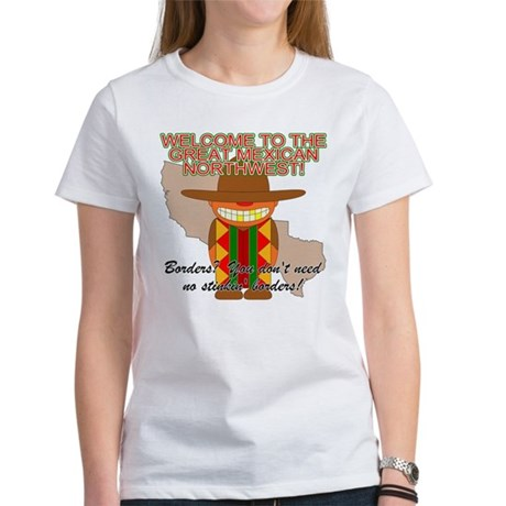 Mexican Illegal Alien Women's T-Shirt