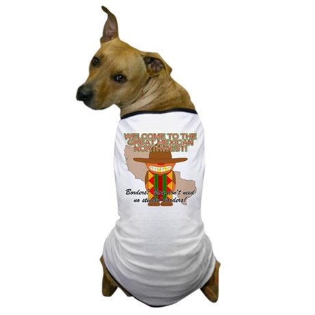 Mexican Illegal Alien Dog T-Shirt