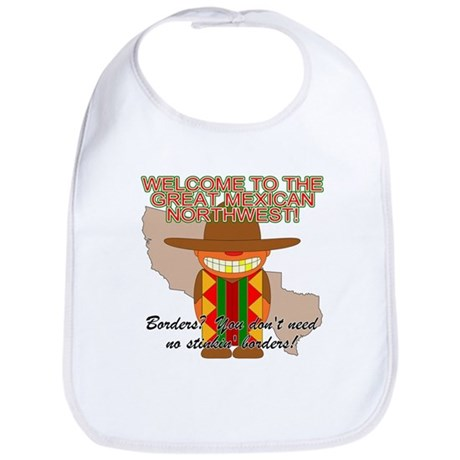 Mexican Illegal Alien Bib