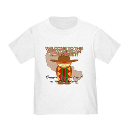 Mexican Illegal Alien Toddler T-Shirt