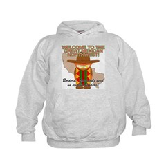 Mexican Illegal Alien Kids Hoodie