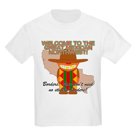 Mexican Illegal Alien Kids T-Shirt