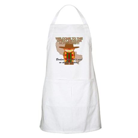Mexican Illegal Alien BBQ Apron