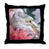Bearded Dragon 003 Throw Pillow