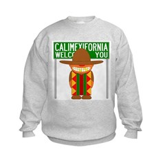 Illegal Alien Invasion Kids Sweatshirt